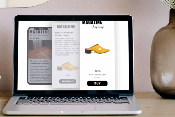 How to implement and build a successful e-commerce model around content