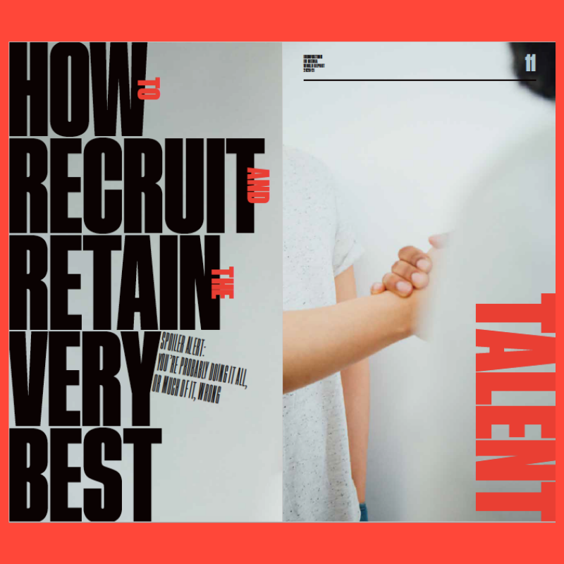 Innovation in Media 2020-21: How to recruit and retain the very best talent