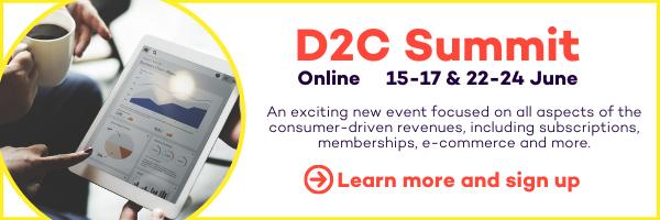 D2C Summit ad inside article 2
