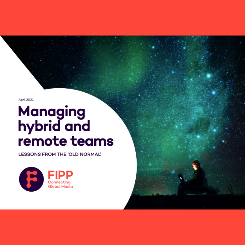 Managing hybrid and remote teams