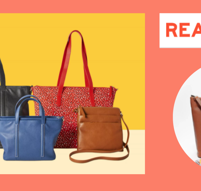 Real Simple debuts new handbag collection focused on style and functionality