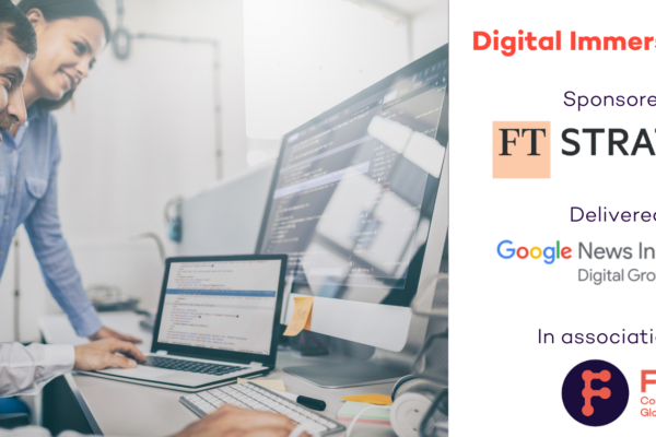 [SOLD OUT] Google Digital Immersion Week – an exclusive, 5-day programme for magazine media